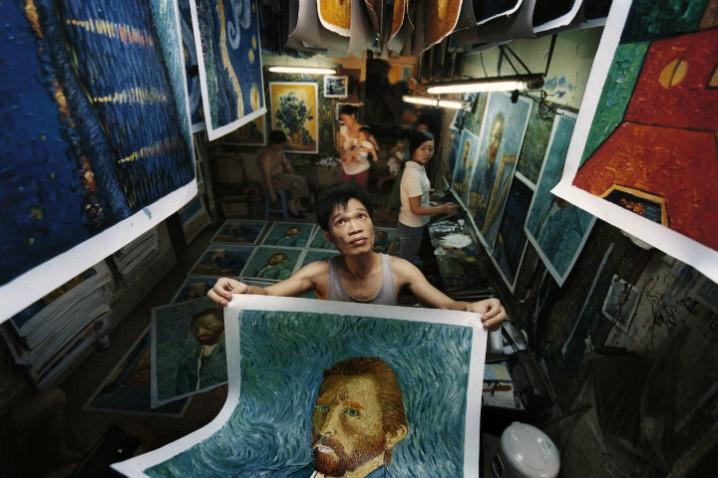 Chinas Van Gogh di Yu Haibo Yu Tianqi Kiki 02