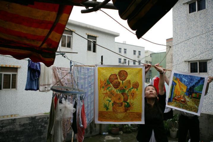 Chinas Van Gogh di Yu Haibo Yu Tianqi Kiki 05