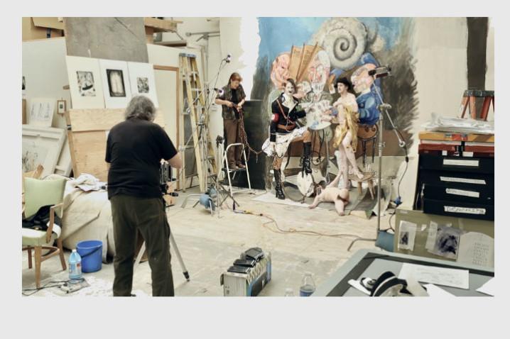 Witkin&Witkin by Trisha Ziff LSDA2018, Joel-Peter Witkin studio