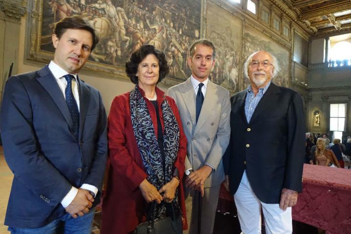 BIAF_2017_ Palazzo Vecchio_Sindaco Nardella_ Borletti Buitoni_ Moretti_ Frascione_ ph GMoggi