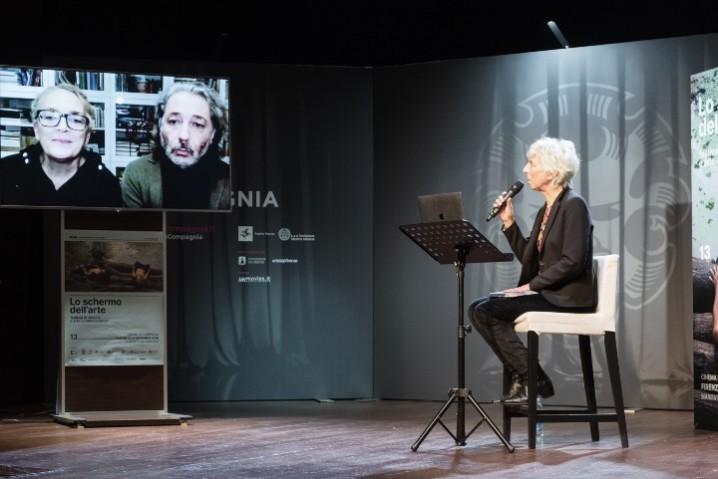 Schermo dell'arte_2020 talk with Flatform e silvia lucchesi