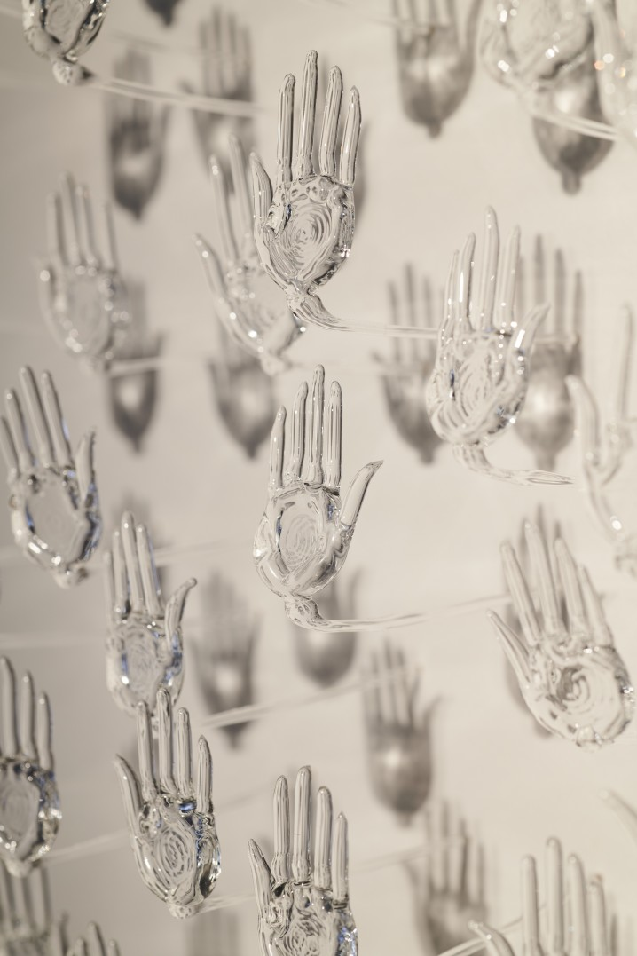 Elmira Abolhassani, The Silence Hands, detail