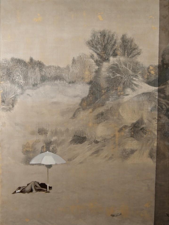 Giuseppe Vassallo, L'ora dell'abbandono B - 75x100 cm - 2020