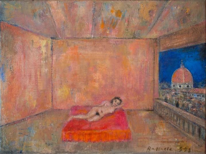 Raffaele Bueno, 1998 olio su tela 40x30 cm