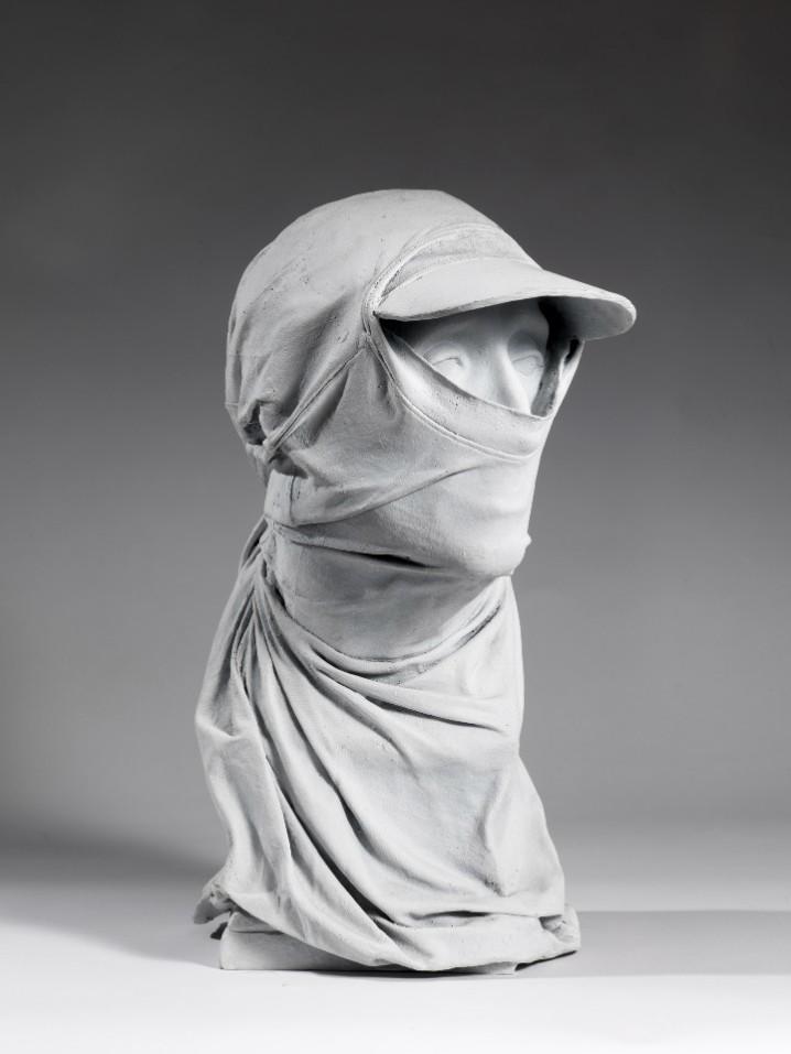 Fernando Sanchez Castillo Mask bronzo cm 46x38x30